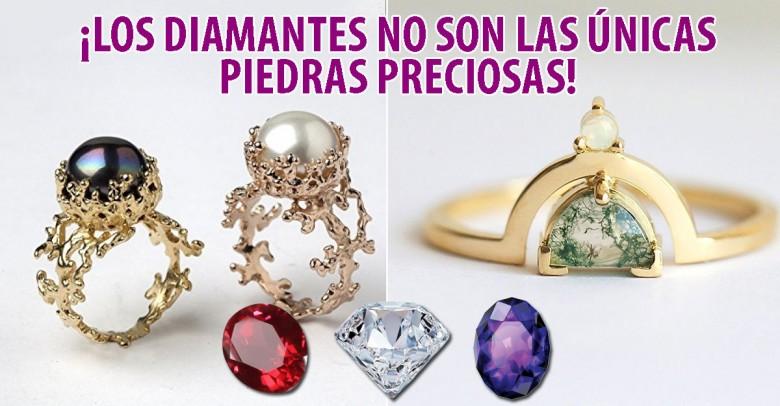 ¡Los diamantes no son las únicas piedras preciosas!