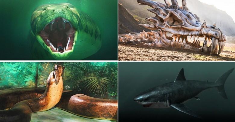 ¡Criaturas fantásticas que existieron de verdad!