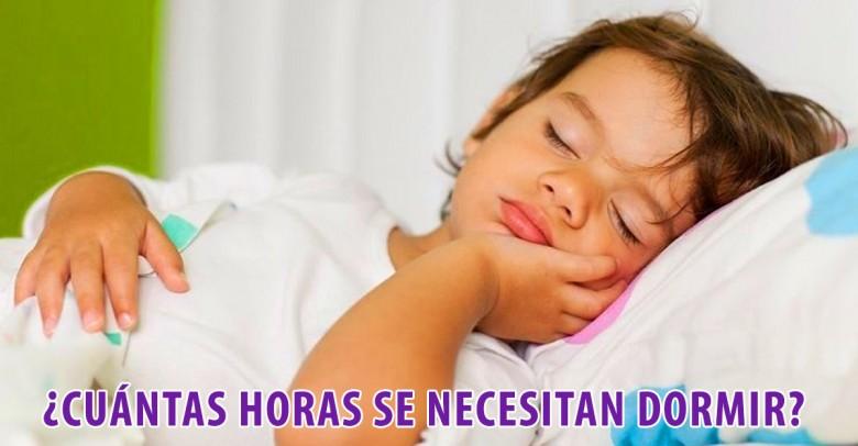 ¿Cuántas horas se necesitan dormir para tener una vida saludable?