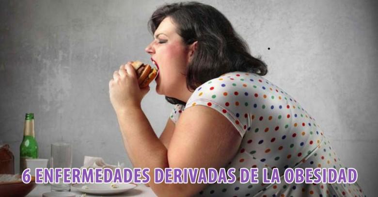 6 enfermedades derivadas directamente de la obesidad