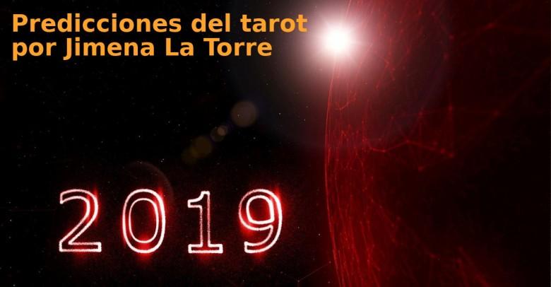 Predicciones del tarot para este 2019