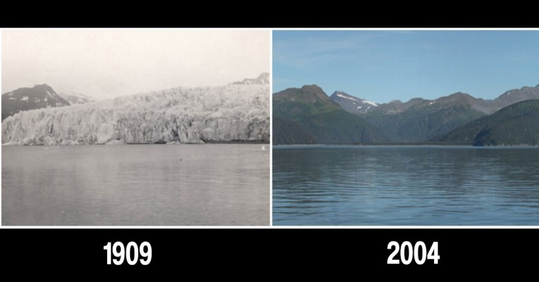 Nuestro planeta antes y ahora. Fotografías de la NASA que te dejarán con la boca abierta