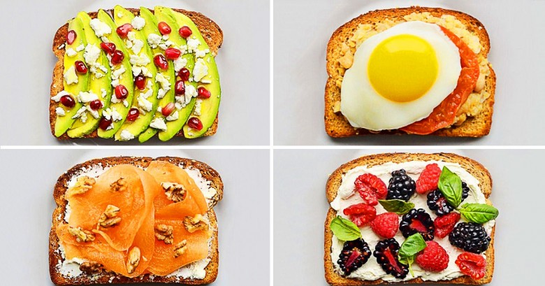 21 Simples y deliciosos emparedados para el desayuno