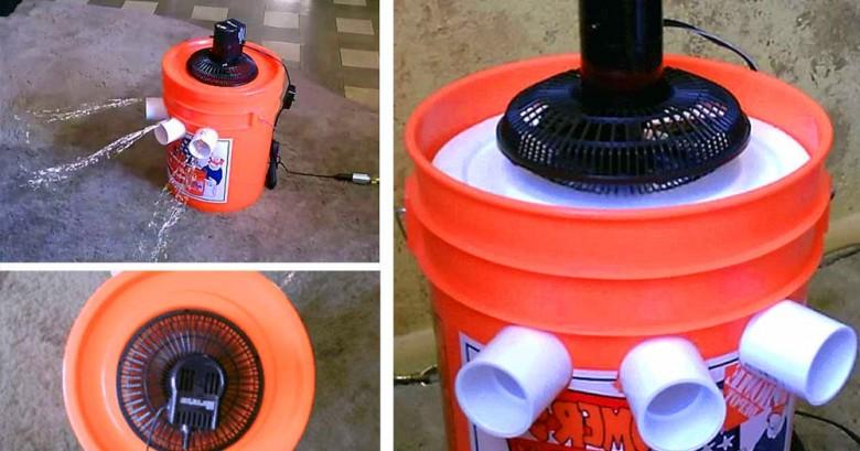 Sabias que puedes armar un aire acondicionado casero asi de fácil?
