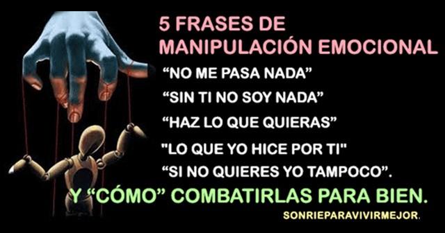 5 Frases de manipulación emocional