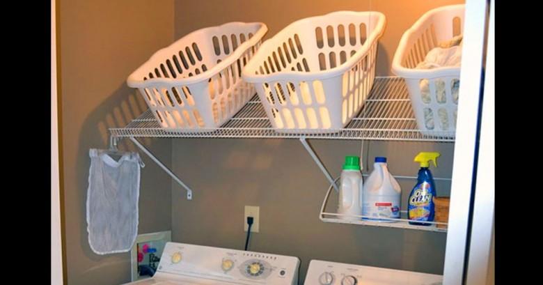 Estas son unas ideas geniales para tu hacer de tu lavadero un lugar unico