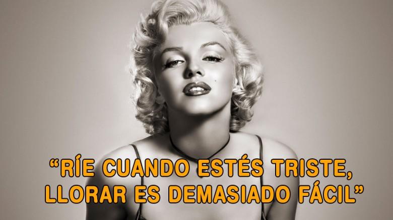 12 frases de Marilyn Monroe que te harán reflexionar