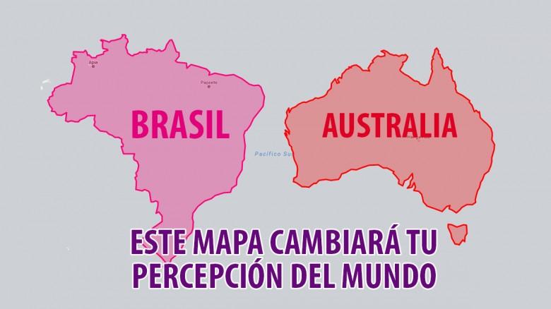 ¡Este mapa cambiará tu percepción del mundo!