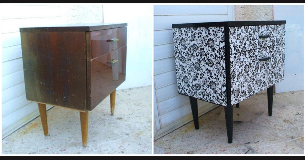 15 muy buenas ideas para renovar tus muebles antiguos for Renovar muebles antiguos