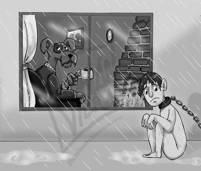 ilustraciones maltrato animal (2)