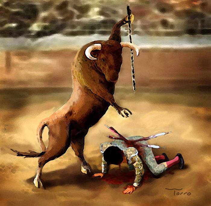 ilustraciones maltrato animal (22)