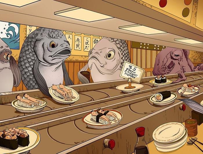 ilustraciones maltrato animal (9)
