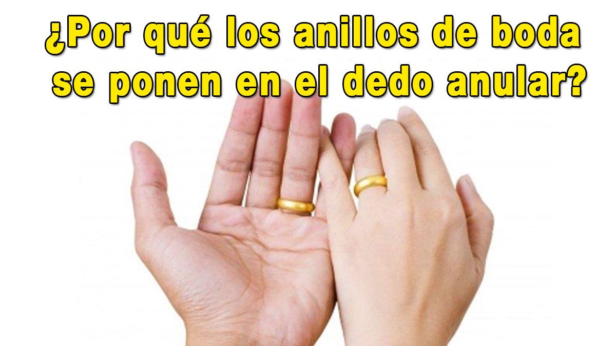 Sabes la verdadera raz n de porque el anillo de bodas va for En que mano se usa el anillo de compromiso