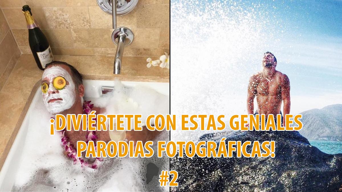 Divertida compilación de las parodias fotográficas más ridículas de mujeres