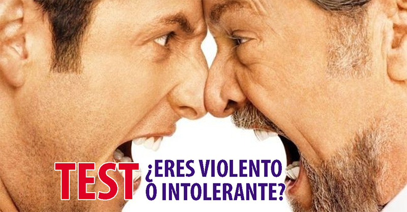 TEST:¿Eres violento o intolerante?